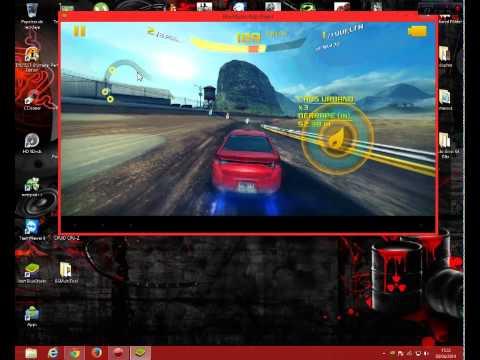 Asphalt 8 Bluestacks 0.8.10 (android emulador) AMD x3 440 @3.3ghz RADEON 4670 4GB de RAM
