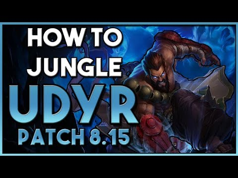 How to play: Udyr Jungle Guide   Build + Runes   League Patch 8.15