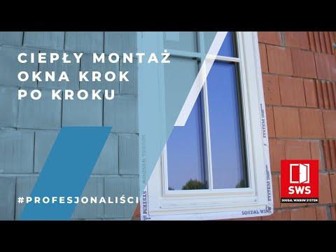 Soudal - jak wykonać krok po kroku ciepły montaż okien?