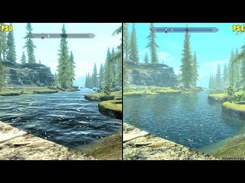 The Elder Scrolls Skyrim PS4 Vs PS3 Graphics Comparison