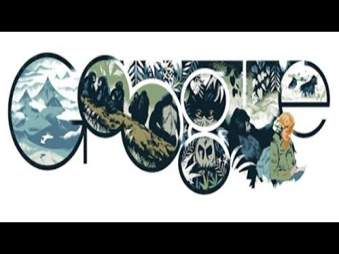 Dian Fossey - Google Doodle