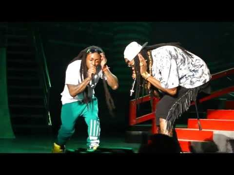 Lil' Wayne & 2 Chainz performs Duffle Bag Boy live @ AMW @ Sleep Train Pavilion,Concord.[HD]