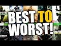 TOP 10 CALL OF DUTY RANKED BEST TO WORST
