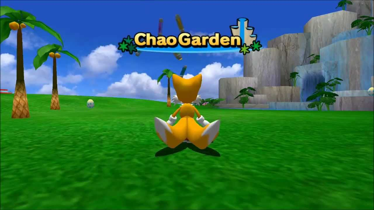 Lets Play Sonic Adventure 2 Chao Garden Part 1 Youtube