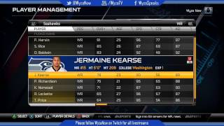 Madden 15 All 32 Teams Rosters & Ratings Used For The Top