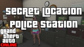 "GTA 5 Online Secret Location Police Station ""GTA V"""