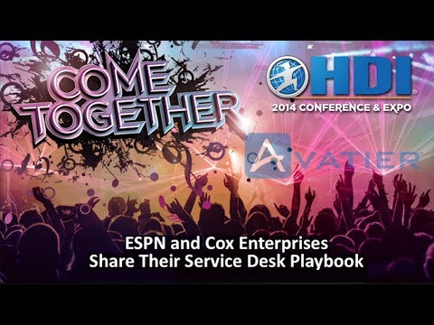 2014 HDI Conference Service Desk Enterprise Password Management Playbook (High Definition)
