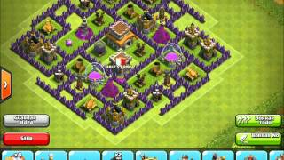 Clash Of Clans Town Hall 8 Hybrid Base Design I