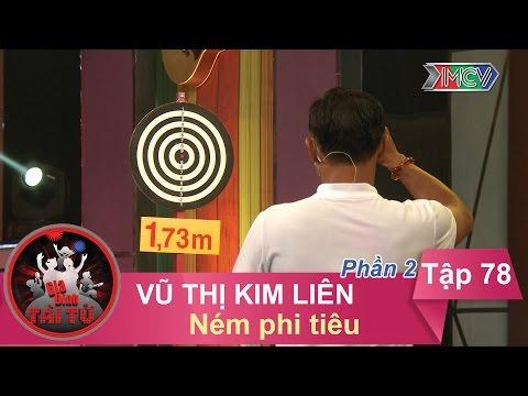Ném phi tiêu - GĐ chị Vũ Thị Kim Liên   GĐTT #78   240317