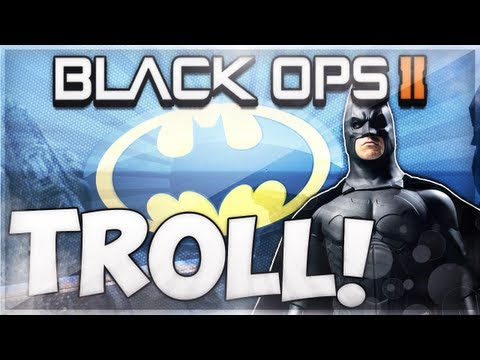 HILARIOUS Black Ops 2 BATMAN Glitch TROLL!
