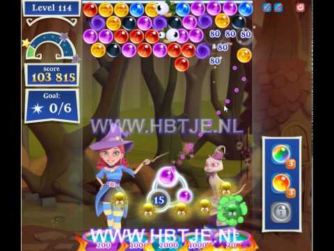 Bubble Witch Saga 2 level 114