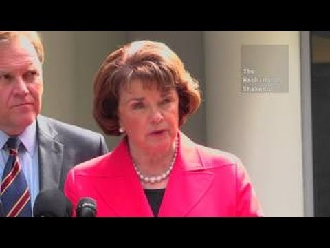 Feinstein & Rogers Walk Away from Questioning on 4th Amendment