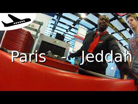 Paris - Jeddah : A good start!