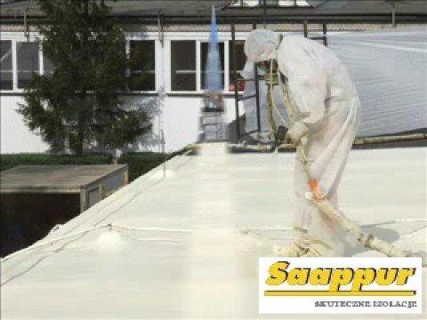 Naprawa dachu - pianka poliuretanowa