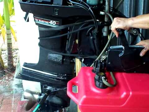 Mercury 40    HP    Oil Injected  YouTube