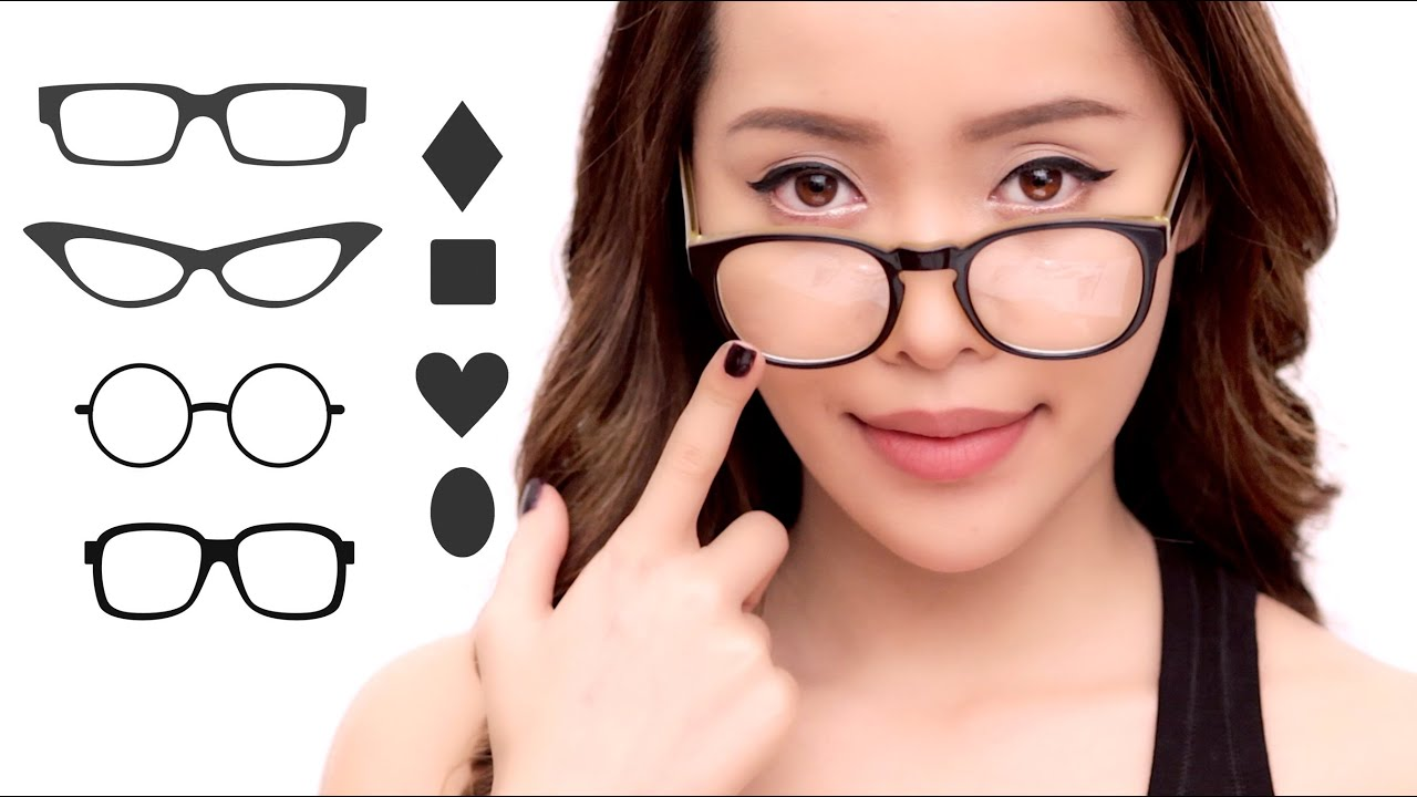 Eyeglass Frames Per Face Shape : The Best Glasses For Your Face Shape - YouTube