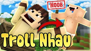 Troll Nhau Trong Server Oops Gumball Trong Minecraft