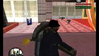 GTA San Andreas How To Save The Jetpack In A Different