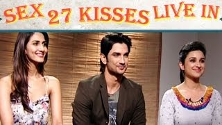 Parineeti Chopra, Sushant Talk About Physical Relationship