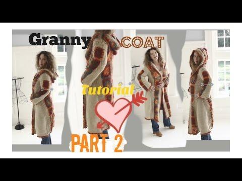 Boho Romantic   Fall Granny Coat/Part 2