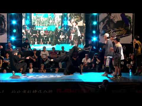 B-Boy 5on5 Semifinal-1 Morning of Owl(KOR)vs Bboyworld Asia Team 2013New Taipei Bboy City新北市國際街舞大賽決賽