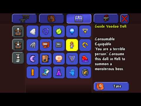 Terraria iOS Hacked World Download NO JAILBREAK