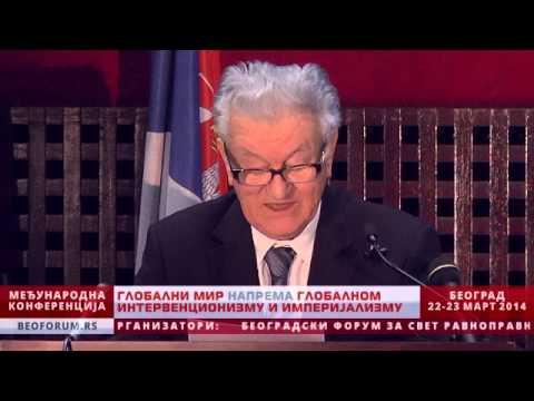MIODRAG ZEČEVIĆ (Global Peace vs. Global Interventionism and Imperialism)