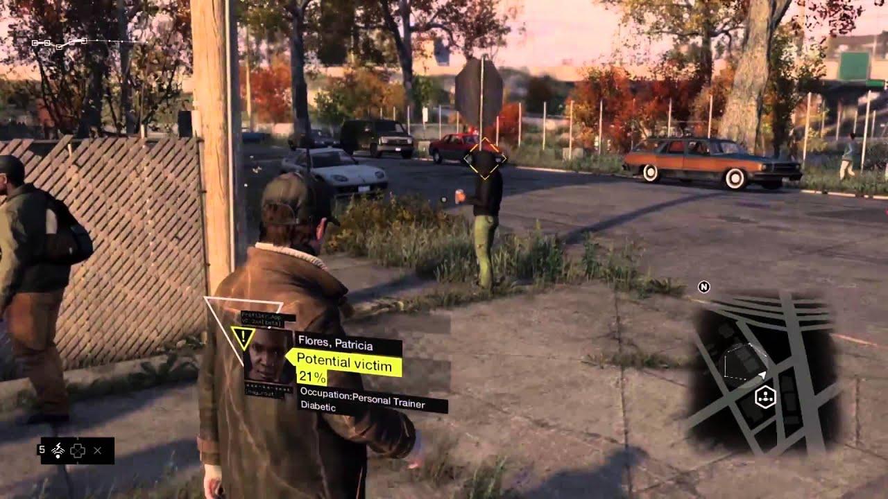 hgnbhnb Rò rỉ 30 phút gameplay của Watch Dogs trước ngày phát hành 1