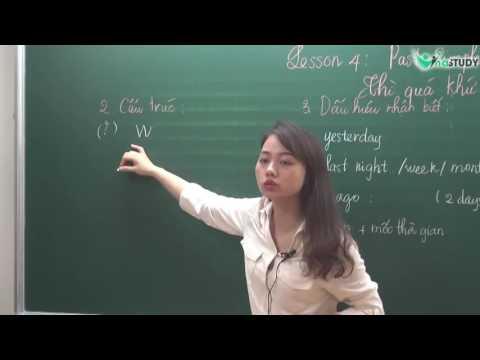 [Vinastudy.vn] Thì Quá Khứ Đơn - Luyện thi IOE lớp 4 - cô Như Quỳnh