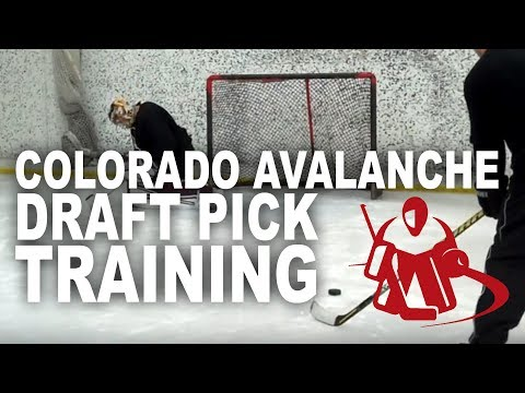Goalcrease Training Kent Patterson Colorado Avalanche Prospect