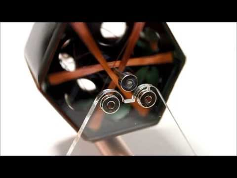 Magnetically Levitated Solar Motor From Gyroscope.com