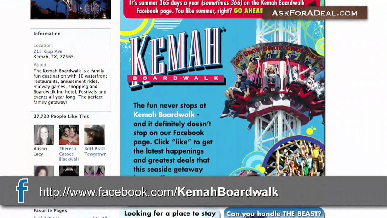 Kemah discount coupons