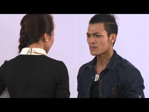 Siêu Mẫu Thanh Hằng thẳng tay tát thí sinh Vietnam's Next Top Model 2013 ( casting VNNTMD 2013)
