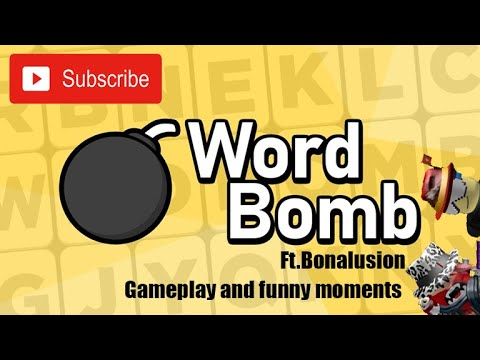 Roblox Word Bomb Gameplay And Funny Moments|Ft.Bonalusion