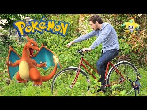 POKEMON LA CONQUÊTE ! David Lafarge à vélo Feat Gallious ! XY PRIMO CHOC !