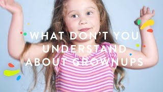 100 Kids Explain What They Don't Understand About Grownups | 100 Kids | HiHo Kids