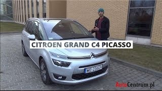 [PL] Citroen Grand C4 Picasso 1.6 HDI 115 KM, 2013 Test