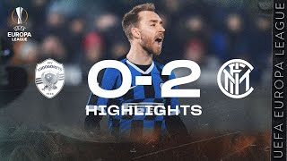 LUDOGORETS 0-2 INTER | HIGHLIGHTS | 2019/20 UEFA Europa League Round of 32 - First Leg 🏆⚫🔵??