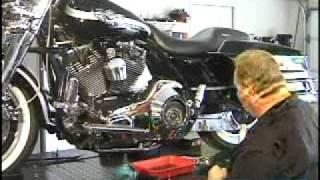 Howto Change Harley Davidson Primary Fluid