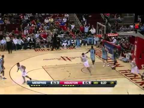 NBA Memphis Grizzlies Vs Houston Rockets Highlights Feb 20, 2012 Game Recap