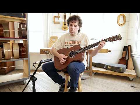 Martin Guitars 0X2MAE Concert Electro Acoustic - Mahogany