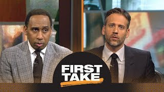 Stephen A. and Max debate: Should Kevin Durant be better without Steph Curry? | First Take | ESPN