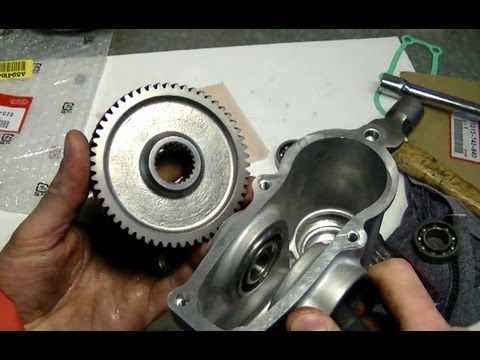 how to change oil snowblower