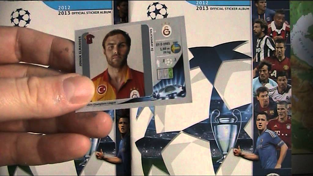 Naklejki Champions League 2012