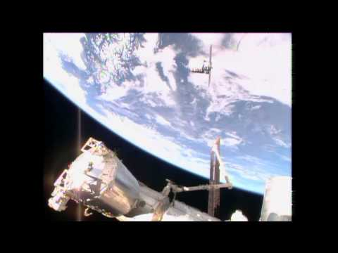 Cygnus Arrives at ISS