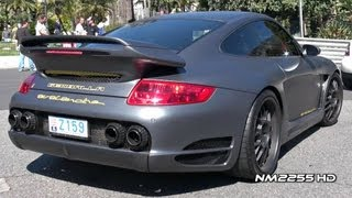 Ultimate Supercar Sounds In Monaco 2012 Top Marques