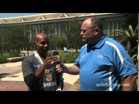 UCLA Welcomes Meb Keflezighi Back to Campus