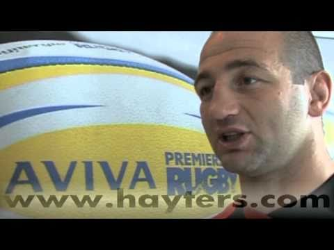 Steve Borthwick Interview - 26-Aug-10