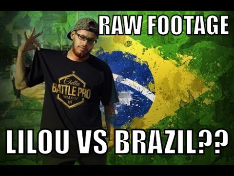 LILOU VS BRAZIL RAW FOOTAGE no cuts