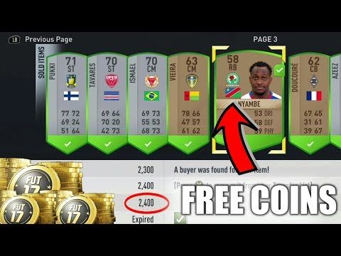 FREE COINS TRADING METHOD | TRADING TIPS | FIFA 17
